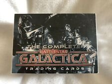 The Complete Battlestar Galactica Trading Cards Full Base Set