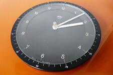 Braun Design ABW 41 domodisque Wanduhr Küchenuhr Type 4839 guter Zustand Lubs