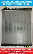 IVECO Tector 75e17 Radiator Part Number 500361629