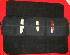 Vinyl Knife Storage Folding Case holds (12) Knives...Buy It Now!!!