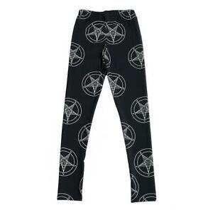 girl leggings Pants geometry pentagram ladies Printed Women Legging La3191