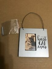 Best Cat Ever Mini Frame Primitives by Kathy Picture magnet wall standing