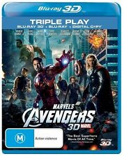 Robert Downey Jr.. 3D M Rated DVDs & Blu-ray Discs