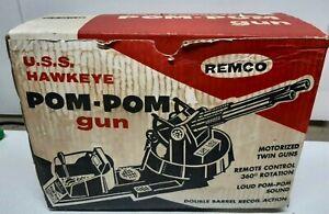 1964 Remco USS Hawkeye Pom-Pom Gun With Original Box