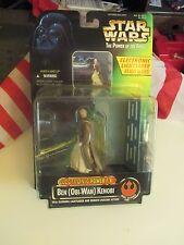 Kenner Star Wars Power of the Force Ben (Obi-Wan) Kenobi Electr Action Figures
