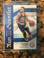 "16/17 PANINI EXCALIBUR #14 STEPHEN CURRY ""RUN THE GAUNTLET"",WARRIORS, MINT Psa ?"