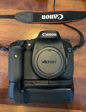 Canon EOS 7D 18.0 MP Digital SLR Camera - Black (Body Only) PLUS extras
