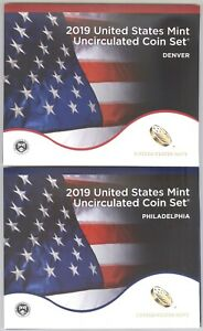 2019 United States Mint Uncirculated Coin Set