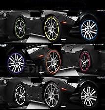 WHITE Alloy Wheel Protector Rim Trim Strips RIMBLADES FLEX fits BMW