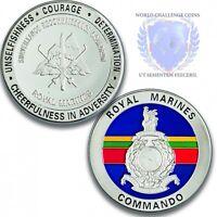 Royal Marines Memorabilia Special Reconnaissance Squadron Silver Spoof Coin