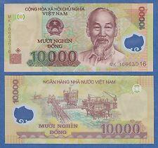 Vietnam 10000 Dong P 119 e 2010 UNC Low Shipping! Polymer Note Viet Nam