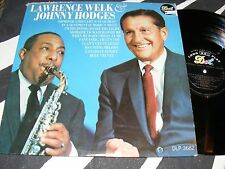 LAWRENCE WELK & JOHNNY HODGES Dot MONO LP Smooth Sax Swing Classic MARTY PAICH