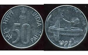 INDE 50  paise 1997