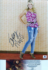 BUSY PHILIPPS Signed SEXY 8x10 Photo Cougar Town, ER, Dawsons Creek, Love Inc GA