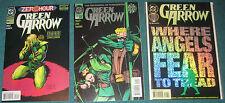 DC UNIVERSE JLU GREEN ARROW and 87 GA comics Black Canary wedding
