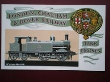 POSTCARD LONDON CHATHAM & DOVER RAILWAY - A CLASS LOCO NO 106
