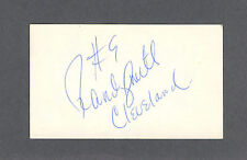 Randy Smith signed basketball index card 1948-2009