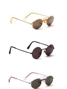 Kinder Sonnenbrille Metall rund oval Mädchen Jungen