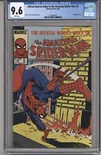 OFFICIAL MARVEL INDEX TO THE AMZING SPIDER-MAN #5 CGC 9.6 WPGS WRAPAROUND CVR