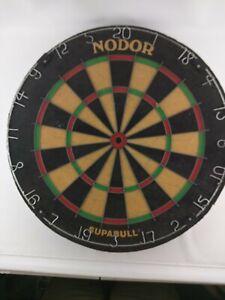 Vintage Nodor Supabull Dartboard