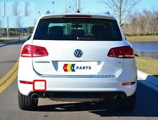 VW TOUAREG 10-14 NEW GENUINE REAR R-LINE BUMPER N/S LEFT TOW HOOK CAP 7P6807449A