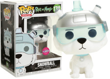 Funko Pop 2017 LACC Flocked Snowball #178 Rick and Morty Vinyl Figure