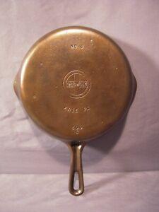 Restored Vintage Griswold Cast Iron No. 6 Skillet Fry Pan 699