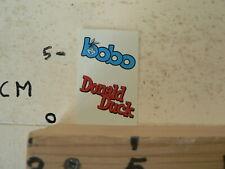 STICKER,DECAL  DONALD DUCK  & BOBO COMIC STRIP