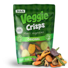 DJ&A Veggie Crisps Chips Mixed Vegetables 250g x  3 packets + FREE POST!