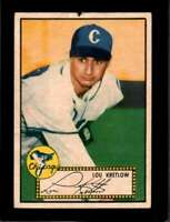 1952 TOPPS #42 LOU KRETLOW FAIR RC ROOKIE WHITE SOX NICELY CENTERED  *XR8842