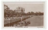 Bedfordshire postcard - The Embankment, Bedford - RP