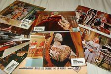 DANS LES GRIFFES DE LA MOMIE ! jeu 12 cinema photos lobby cards hammer film 1966