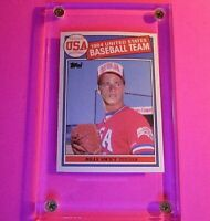 1985 Topps TIFFANY #404 Billy Swift Bill USA Rookie RC MINT