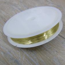 25m Cobre 0.3mm Alambre Artesanía / Oro Plata Negro / Tiara