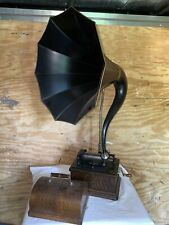 Edison Fireside Cylinder Phonograph with Cygnet horn