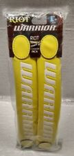 """Warrior Riot Glove Switch Cuff Pair - Yellow White Accessory For 13"""" & 12"""" - New"""