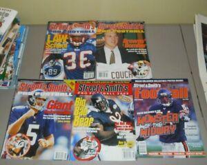 Street & Smith's Pro Football Magazine Lot 1999-2003
