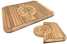 Fairline Targa 40 Teak Replacement Table  - Marine - Boat - Folding - Fold - NEW