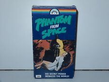 PHANTOM FROM SPACE VHS 1953 NOT RATED OOP HORROR SCI-FI HALLOWEEN GOODTIMES