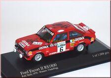 Ford Escort II MK2 RS1800 RAC 1976 #6 Clark / Pegg Minichamps 400768406 1:43