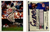 Vladimir Guerrero Signed 1998 Fleer Tradition #244 Card Montreal Expos Autograph