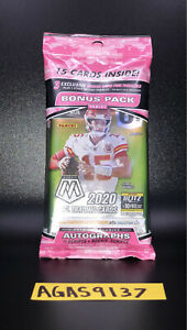 🔥 2020 NFL Panini Mosaic Football Cello pack, Factory Sealed NFL Cards 🔥