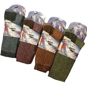 Ladies Womens Merino Wool Socks Hike Thermal Walking Work Boot Socks