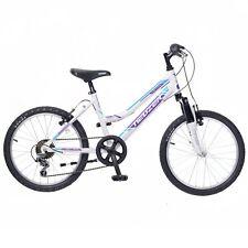 Neuzer Mistral 20 Girls Rigid 20 Inch Mountain Bike in White with 6 Speed