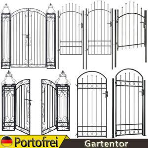 Gartentor Gartenpforte Gartentür Tür Zauntor Hoftor Tor Stahl / Schmiedeeisen