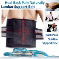 Lumbar Lower Back Brace Support Belt Waist Stabilizer Herniated Disc Sciatica US