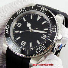 40mm sterile dial bliger sapphire glass luminous ceramic automatic mens watch