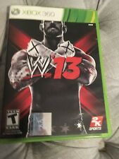 WWE '13 (Microsoft Xbox 360, 2012) 2K13 2013 - CM Punk Cover - COMPLETE & TESTED