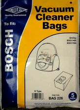 Bosch tipo K BSG1400 bsg1500 smileyelectruepart BAG 226
