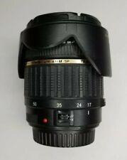 Tamron SP A016 17-50mm f/2.8 LD Di-II XR Aspherical IF AF Lens Canon EF